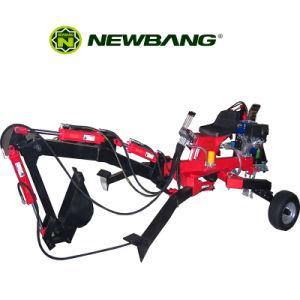 Escavatore a cucchiaia rovescia di ATV con il motore di benzina 9HP da vendere