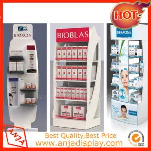 La vente au détail de l'unité d'affichage Cosmétiques Les cosmétiques étagère d'affichage