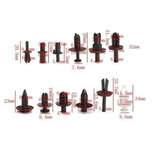 Rivet en plastique auto voiture les clips de fixation en nylon de l'automobile, de type Push Rivet en plastique de type à pousser le clip de retenue de Clips POM