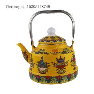 Bom Qualiy Saling quente esmalte em forma de sino jarro de café com pega de aço inoxidável