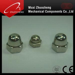 La tête du dôme en acier inoxydable de l'écrou borgne DIN1587