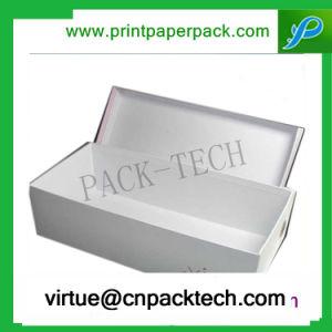 De alta calidad Custom-Order papel rojo Don obstaculizar la caja de embalaje