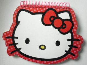 Capas de couro de moda de notebooks em espiral