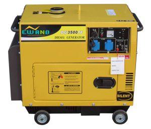 3kw極度の無声ディーゼルGenerator/Dg3500se