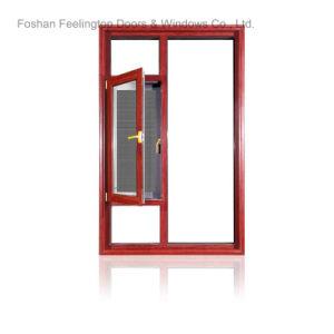Finestra di alluminio moderna della stoffa per tendine con lo schermo di volo (FT-W135)
