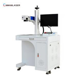 Industrie-Geräteboden-Typ Faser-Laser-Markierung für Metallmaterial