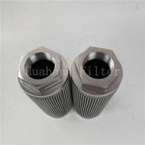 스테인리스 주름을 잡은 유압 흡입 필터 중합체 용해 기름 필터 HWU-80*80G