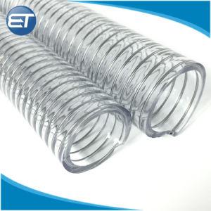 Tubo non tossico trasparente del tubo del filo di acciaio del PVC di prezzi bassi