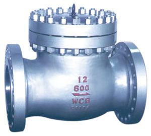 A ANSI 150lb de aço inoxidável com flange da válvula de retenção do Giro