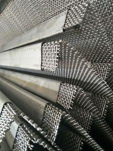 Engranzamento de fio frisado/engranzamento tecido da tela/engranzamento da tela de vibração usado em trituradores de pedra de vibração
