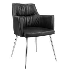 Современной мебелью для отдыха провод фиолетового цвета кожи бар табурет стул (FS-WB1627)