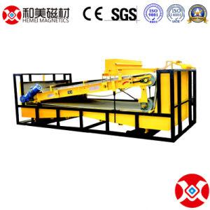 Alto Piatto-Tipo separatore magnetico di pendenza di riciclaggio dei rifiuti di /Metal del ferro