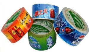 테이프를 인쇄하는 Kraft 종이 테이프 로고