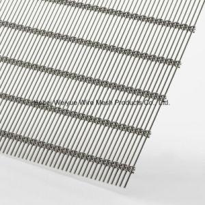 Rivestimento decorativo architettonico tessuto della maglia della rete metallica