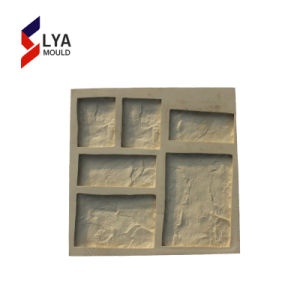 Muffe flessibili della pietra della gomma di silicone dell'impiallacciatura per la decorazione della parete