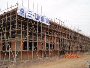 Taller de la estructura de acero prefabricados con bastidor de acero de la luz de los materiales de construcción