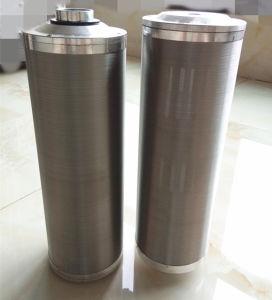 Edelstahl-Kerben-Draht-Filtereinsatz-Kassetten-Stützkundenbezogenheit