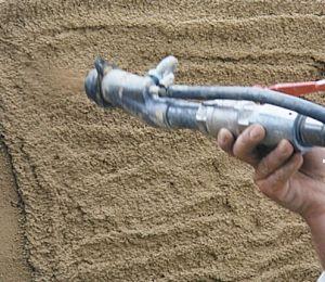 Putty гипса цемент минометных опрыскивателей