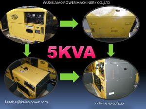 5kVA gerador diesel silenciosa 50Hz/220V Melhor Preço!
