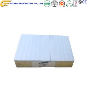 Paneles sándwich de cemento de la pintura de color del Panel Panel de acero
