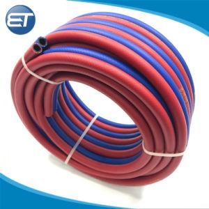 Tubo/tubo/tubo flessibile di plastica gemellare della saldatura ossiacetilenica dell'ossigeno dell'aria del PVC
