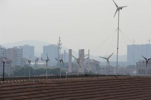 12V/24V Turbine éolienne à axe vertical pour une utilisation domestique de la DG-H-100W