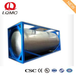 化学液体のためのステンレス鋼40FT ISOタンク容器