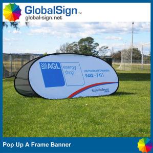 Color pieno Printed Pop in su un Frame Banner per Events