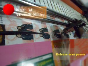 O equipamento de escritório 350mm Alimentação automática de rolo de filme de rompimento Automático Bolsa Papel Fotográfico Frio Quente Laminador Laminadora Laminação
