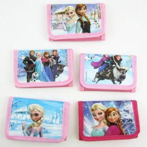 Cut Cartoon Frozen Folding Wallet for Kids