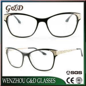 Maakt de Model In het groot Voorraad van de goede Kwaliteit tot het Metaal van de Orde Optisch Frame Eyewear