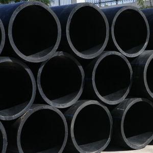 PE van de douane HDPE van het Polyethyleen van de Buis van de Grote Diameter van de Waterpijp Plastic Pijp
