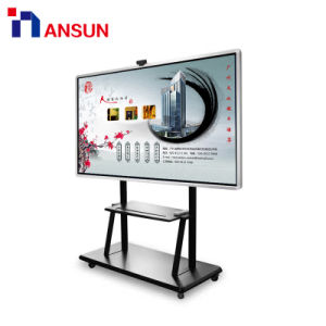 対話型の表示のためのLCDのモニタのWiFi IR LCDのタッチ画面を立てている自己