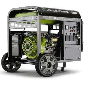 6kw車輪が付いているAir-Cooled 100%Copperガソリン発電機への3kw