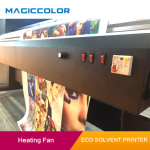 oplosbare Printer van Eco van de Banner van pvc van 1.90m de Digitale met Dx10 Printhead