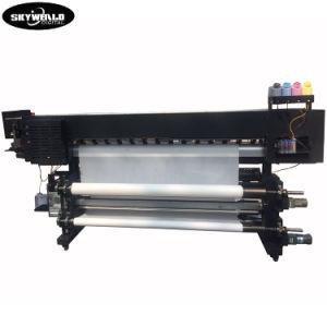 Dx5 drei Schreibkopf-beste Preis-Oberseite Peformance direkt Fahnen-Drucker-Maschine