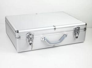 Boîte à outils en aluminium professionnelle de qualité avec le traitement en alliage de zinc
