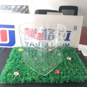 반지를 위한 꽃 선물 상자 로즈 도매 아크릴 상자