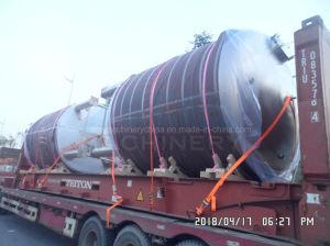De Tank van de Opslag van het Hete Water van het Roestvrij staal van Fcg van Fuluke