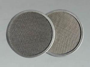 Filtro de acero inoxidable SS/disco disco de filtro redondo