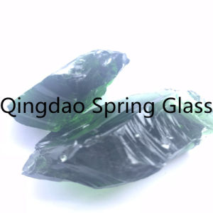 De grandes pierres de verre pour la décoration