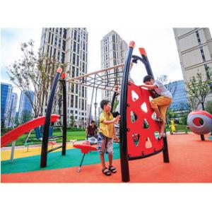 子供の音楽的な演劇装置の住宅区域の屋外の運動場機能