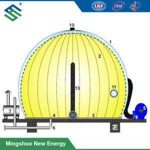 Serbatoio del supporto di memoria di gas della Doppio-Membrana 3000 M^3