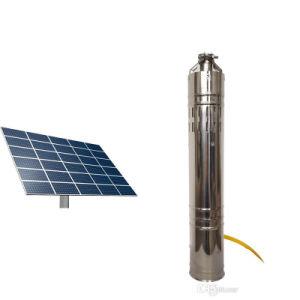 DC de la pompe à eau solaire solaire Liste de Prix de la pompe à eau