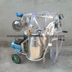 電気真空ポンプ牛搾り出す機械二重バケツ