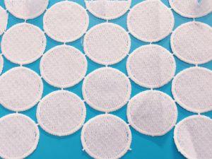 Tecidos de seda leite Lace Acessórios de Moda