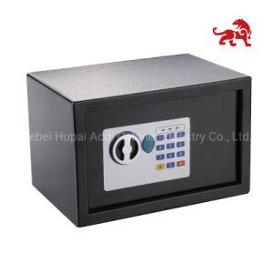 Tiger pequeña caja fuerte electrónica, teclado digital, la combinación de código de los dígitos 3-8 Caja de seguridad (HP-ED17E)
