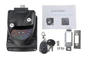 Serrure de porte sans clé avec la poignée et le contrôleur distant pour RV voiture, caravane, camping-car et de remorque