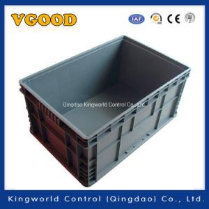 Serviço Pesado fabricante Norma europeia sobre a caixa de volume de negócios de armazenamento de plástico sólido