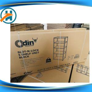 De conception OEM pour étagère en carton ondulé Boîte avec 2 côtés de l'impression